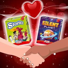Am Valentinstag auch am Spieltisch ein Team sein