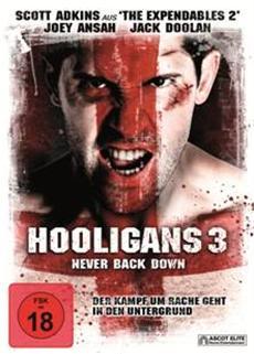 BD/DVD-VÖ | Hooligans 3 - Never Back Down - ab 10.12.
