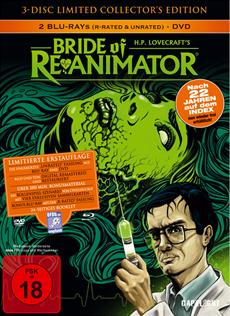 capelight pictures präsentiert: BRIDE OF RE-ANIMATOR - Ab 28.02.2014 als 3 - Disc Limited Collector's Edition im Mediabook