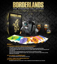 Borderlands: The Handsome Collection Gentleman Claptrap-in-a-Box Edition