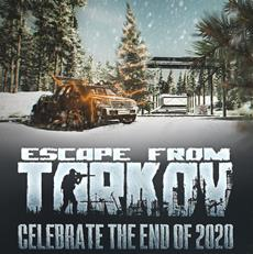 Celebrate the end of 2020 - Escape from Tarkov