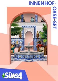Das Die Sims 4 Innenhof-Oase-Set ist ab 18. Mai erhältlich