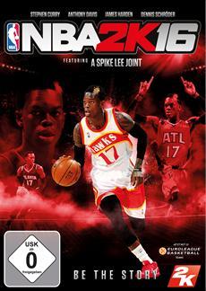 Dennis Schr&ouml;der ziert das deutsche Cover von NBA<sup>&reg;</sup> 2K16