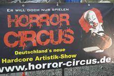 Der Horror Circus zu Gast in Marburg