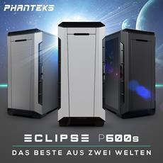 Der PHANTEKS Eclipse P600S Midi-Tower vereint das Beste aus zwei Welten