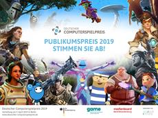 Deutschland hat die Wahl: Mitmachen und gewinnen beim Deutschen Computerspielpreis