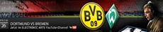 Die FIFA 12 Bundesliga Prognose: Borussia Dortmund gegen Werden Bremen