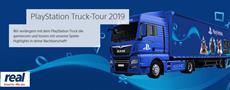 Die PlayStation Truck Tour 2019 in Kooperation mit real startet am Freitag