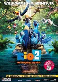 Die Star-Besetzung für RIO 2 im Dschungelfieber