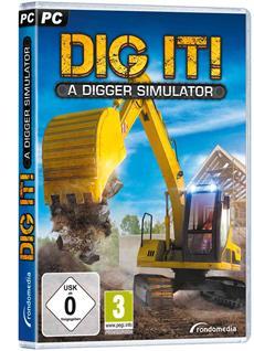 DIG IT! - Der Baggersimulator - Offizieller Packshot