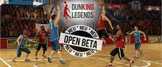 Dunking Legends - Der online Basketball-Manager ist da!
