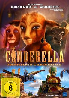 BD/DVD-VÖ | CINDERELLA - ABENTEUER IM WILDEN WESTEN