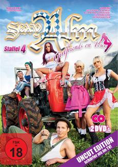 Ab 31.01.2014 auf DVD: Girlfriends on Tour - Sexy Alm