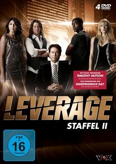 DVD-VÖ   Leverage - Staffel 2