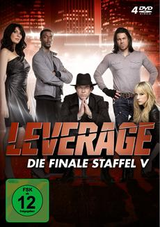 DVD-VÖ   US-TV-Serie Leverage - Die Finale Staffel V
