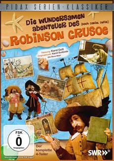 """DVD-Veröffentlichung der 4-teiligen Puppenfilm-Adaption """"Die wundersamen Abenteuer des Robinson Crusoe"""" am 22.11.2013"""