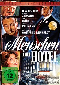 """DVD-Veröffentlichung des Spielfilmklassikers """"Menschen im Hotel"""" am 24.03.2015"""