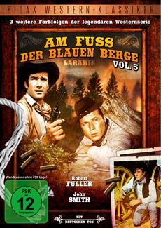 """DVD-Veröffentlichung von Volume 5 der Kultwesternserie """"Am Fuß der blauen Berge"""" am 03.04.2015"""