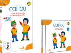 DVD-VÖ | Der kleine Caillou entdeckt wieder die Welt!
