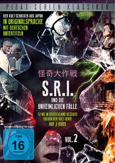 DVD-VÖ | SRI und die unheimlichen Fälle, Vol. 2