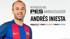 FC Barcelona Kapitän Andrés Iniesta wird offizieller PES Ambassador