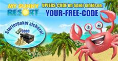 Fernsehclip und Starterpaket für My Sunny Resort