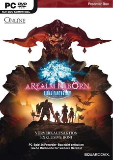 FINAL FANTASY XIV: A Realm Reborn - Pre-Order Box jetzt im Fachhandel erhältlich