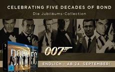 FOX feiert 50 Jahre 007 mit explosiver Jubiläums-Collection auf Blu-ray