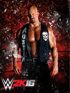 "Gebt uns ein ""Hell Yeah"": 2K kündigt Stone Cold Steve Austin als Cover-Superstar für WWE 2K16 an"