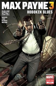 Hoboken Blues - der zweite Teil des Original Max Payne 3 Comics von Marvel ab sofort als Download erhältlich