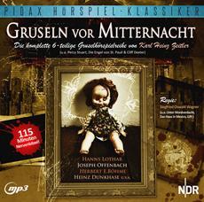 """CD-Veröffentlichung der 6-teiligen Hörspielserie """"Gruseln vor Mitternacht"""" am 07.06.2013"""