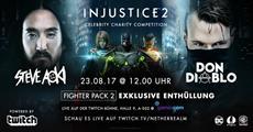 Injustice 2 Gamescom Livestream mit Steve Aoki und Don Diablo
