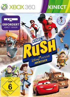 Kinect Rush: A Disney•Pixar Adventure ab sofort im Handel erhältlich