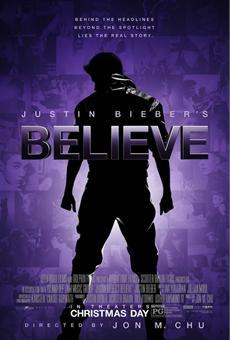 JUSTIN BIEBER'S BELIEVE - Event-Screenings in über 240 Kinos bundesweit