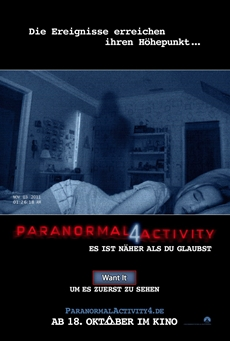 Feature | Exklusives Want It Screening von PARANORMAL ACTIVITY 4 in München