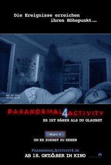 Gewinnspiel: Paranormal Activity 4