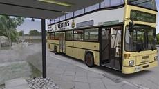 Mit einem echten OMSI-Doppeldeckerbus durch Spandau