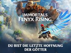 Mit Immortals Fenyx Rising<sup>&trade;</sup> erwacht ein gro&szlig;es, mythologisches Abenteuer zum Leben.