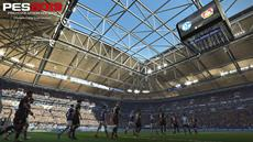 Neue Screenshots zu PES 2019 zeigen FC Schalke 04 und Bayer 04 Leverkusen in der VELTINS-Arena