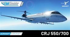 Neuer High-End-Airliner für MS Flight Simulator: Aerosoft präsentiert den CRJ 550/700