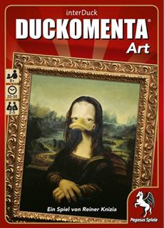 Neues Kartenspiel DUCKOMENTA Art: Alles Ente oder was?
