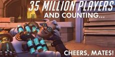 Overwatch erreicht 35 Millionen Spieler