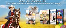 Perfekt fürs Osternest: Film-Hits für Kids