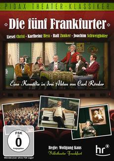 """Pidax film media Ltd. veröffentlicht am 28.06.2013 die Komödie """"Die fünf Frankfurter"""" in der Reihe Pidax Theater-Klassiker auf DVD"""