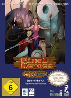 PIXEL HEROES: BYTE & MAGIC: Ab dem 30. Juli als limitierte Sammlerbox im Handel