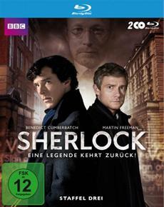 Review (BD): Sherlock - Staffel 3