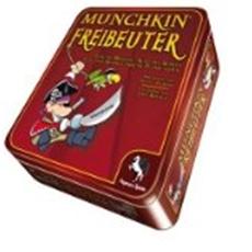 Review (Gesellschaftsspiel): Munchkin Freibeuter Metalldose