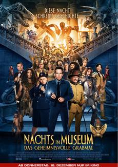 Review (Kino): Nachts im Museum - Das geheimnisvolle Grabmal (OV)