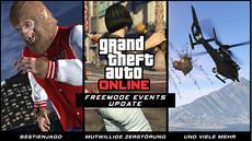 Rockstar Games News: Das Freemode Events-Update für GTA Online erscheint am 15. September