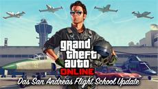 Rockstar Games News: San Andreas Flight School Update für GTA Online ab heute erhältlich